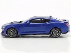 Chevrolet Camaro ZL1 Baujahr 2017 hyper blau 1:18 GT-Spirit