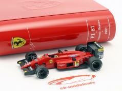 Gerhard Berger Ferrari F1/87 #28 GP Japon formule 1 1987 1:43 Ixo la Storia