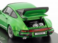 Porsche 911 Turbo Year 1975 green metallic 1:43 Kyosho