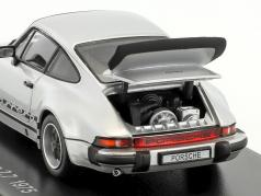 Porsche 911 Carrera 2.7 Anno 1975 argento 1:43 Kyosho