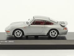 Porsche 911 (993) RS silber metallic 1:64 Kyosho