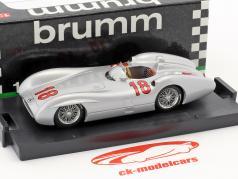 Juan Manuel Fangio Mercedes W196C #18 gagnant français GP champion du monde formule 1 1954 1:43 Brumm