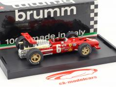 Chris Amon Ferrari 312 F1 #6 French GP formula 1 1969 1:43 Brumm