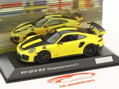Porsche 911 (991 II) GT2 RS Rundenrekord Nürburgring 2017 6:47,3 min 1:43 Spark