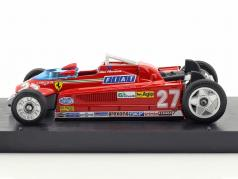 Gilles Villeneuve Ferrari 126CK #27 vincitore monaco GP formula 1 1981 versione Trasporti 1:43 Brumm