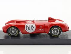 Lancia D24 #602 gagnant Mille Miglia 1954 Alberto Ascari 1:43 Brumm