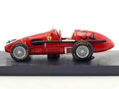 Kurt Adolff Ferrari 500 F2 #34 Allemagne GP Nürburgring formule 1 1953 1:43 Brumm