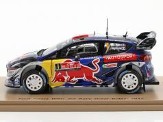 Ford Fiesta WRC #1 3 ° rally grande Gran Bretagna 2017 Ogier, Ingrassia 1:43 Spark