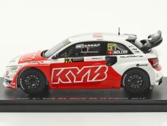 Audi S1 EKS RX #51 World RX di Francia 2017 N. Müller 1:43 Spark