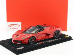 Ferrari LaFerrari Aperta Construction year 2016 corsa red 1:18 BBR