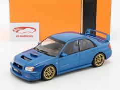 Subaru Impreza WRX STi Tune S9 specs Construction year 2003 blue metallic 1:18 Ixo