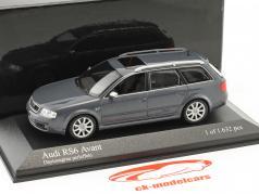 Audi RS6 Avant year 2002 daytona gray perleffekt 1:43 Minichamps