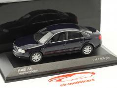 Audi A6 C5 year 2002 blue metallic 1:43 Minichamps
