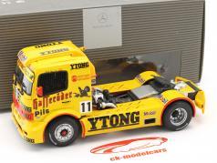 J. Gene Mercedes-Benz Race Truck #11 team Hasseröder 1999 1:43 Minichamps