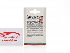Brumista allenatore autista Milano 1800 1:43 Brumm