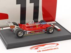 Jody Scheckter / Gilles Villeneuve Ferrari 312 T4 presentation Fiorano formula 1 1979 1:43 Brumm