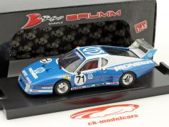 Ferrari 512 BB LM #71 9 ° 24h LeMans 1982 Ballot-Lena, Andruet, Regout 1:43 Brumm