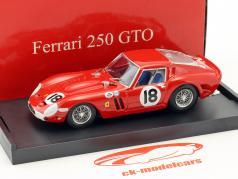 Ferrari 250 GTO #18 gagnant 3h Daytona 1963 Pedro Rodriguez 1:43 Brumm