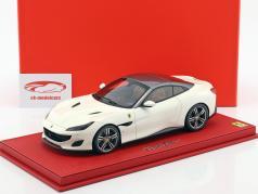 Ferrari Portofino blanc / gris 1:18 BBR