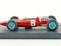 Nino Vaccarella Ferrari 158 #6 italien GP formule 1 1965 1:43 Brumm