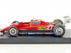 Patrick Tambay Ferrari 126C2 #27 2nd italian GP formula 1 1982 1:43 Brumm