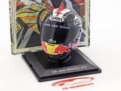 Marc Marquez campione del mondo Moto2 2012 casco 1:5 Altaya