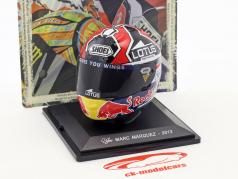 Marc Marquez World Champion MotoGP 2013 helmet 1:5 Altaya