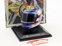 Colin Edwards MotoGP 2012 casque 1:5 Altaya