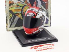 Andrea Dovizioso MotoGP 2014 Helm 1:5 Altaya