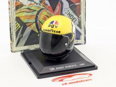 Kenny Roberts campione del mondo 500cm³ 1980 casco 1:5 Altaya