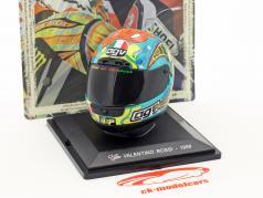 Valentino Rossi champion du monde 250cm³ 1999 casque 1:5 Altaya