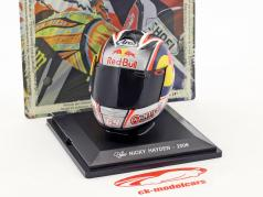 Nicky Hayden World Champion MotoGP 2006 helmet 1:5 Altaya