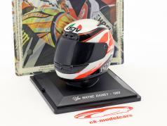 Wayne Rainey MotoGP 1993 Last Race helmet 1:5 Altaya
