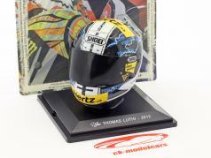 Thomas Lüthi Moto2 2013 Helm 1:5 Altaya