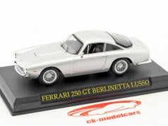 Ferrari 250 GT Berlinetta Lusso argent 1:43 Altaya