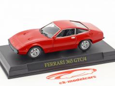 Ferrari 365 GTC/4 rosso 1:43 Altaya