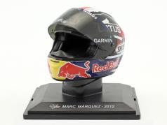 Marc Marquez Weltmeister Moto2 2012 Helm 1:5 Altaya