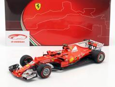 Kimi Räikkönen Ferrari SF70H #7 2 Monaco GP formule 1 2017 1:18 BBR
