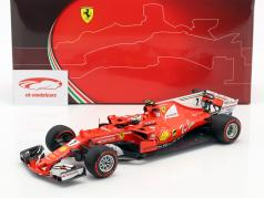 Kimi Räikkönen Ferrari SF70H #7 2nd monaco GP formula 1 2017 1:18 BBR
