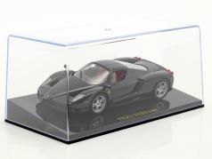 Ferrari Enzo nero con vetrina 1:43 Altaya