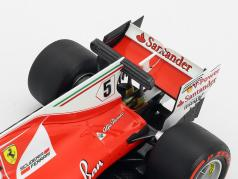 Sebastian Vettel Ferrari SF70H #5 gagnant Monaco GP formule 1 2017 1:18 BBR