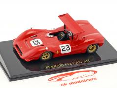 Chris Amon Ferrari 612 #23 CAN AM Series 1968 mit Vitrine 1:43 Altaya