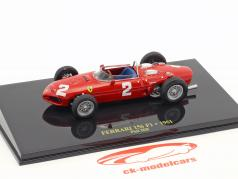 Phil Hill Ferrari 156 #2 World Champion formula 1 1961 with showcase 1:43 Altaya