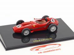 Mike Hawthrone Ferrari F246 #4 campione del mondo formula 1 1958 1:43 con vetrina Altaya