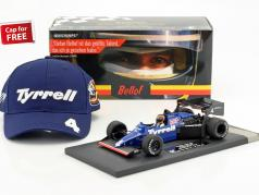 Stefan Bellof Tyrrell 012 #4 Brazil GP formula 1 1984 with Cap 1:18 Minichamps