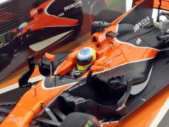 Fernando Alonso McLaren MCL32 #14 Australia GP formula 1 2017 1:43 Minichamps