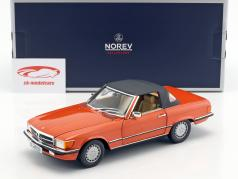 Mercedes-Benz 300 SL year 1986 orange 1:18 Norev
