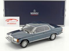 Mercedes-Benz 280 CE year 1980 blue metallic 1:18 Norev