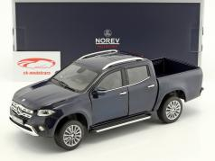 Mercedes-Benz X-Class year 2017 blue metallic 1:18 Norev