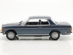 Mercedes-Benz 280 CE year 1980 blue metallic 1:18 Norev